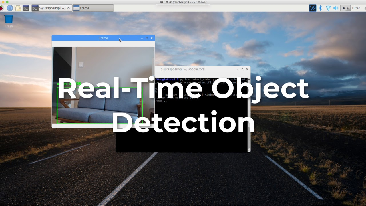 Object detection and image classification with Google Coral USB Accelerator  Demo