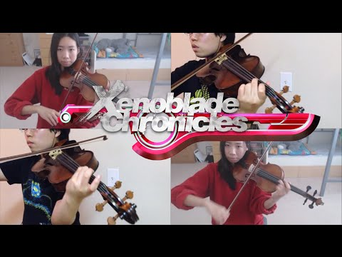 Xenoblade Chronicles: Thoughts to a Friend [string quartet] feat. animevivi