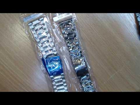 браслеты к наручным часам 26 мм,24 мм, ремонт часов,ремонт браслетов.