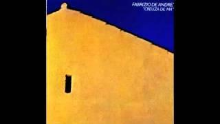 CREUZA DE MÄ - Fabrizio De Andrè