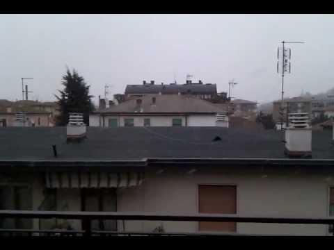 Nevicata a Vicenza 1 febbraio 2012