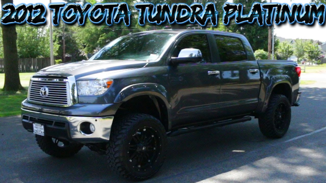 2012 toyota tundra platinum 4x4 northwest motorsport youtube. Black Bedroom Furniture Sets. Home Design Ideas