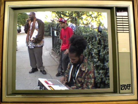 Damu on the MPC in NYC's Madison Square Park