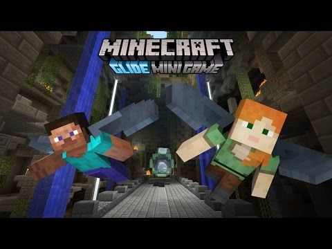 Minecraft Glide Mini Game trailer - coming free to Console Edition!