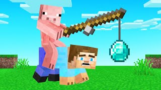 YOU LAUGH = YOU DESTROY DIAMONDS! (Minecraft)
