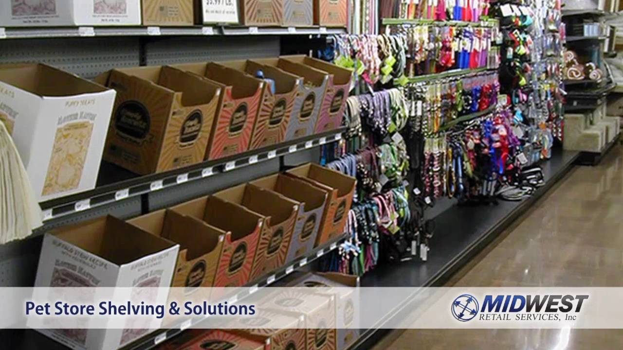 Store Shelving Pet Supply Stores Midwest Retail Services