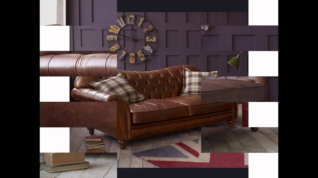 Give the fort of your living space with leather sofa