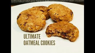 THE ULTIMATE OATMEAL COOKIE - CookingwithKarma