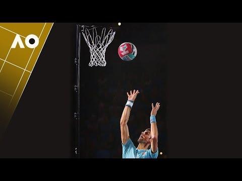 Novak dominates in netball before the Australian Open