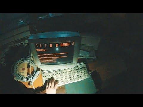 Phone room still running in abandoned building