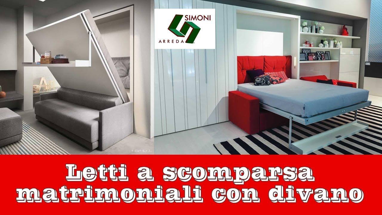 Letti A Scomparsa Milano letti a scomparsa matrimoniali con divano | simoni arreda milano