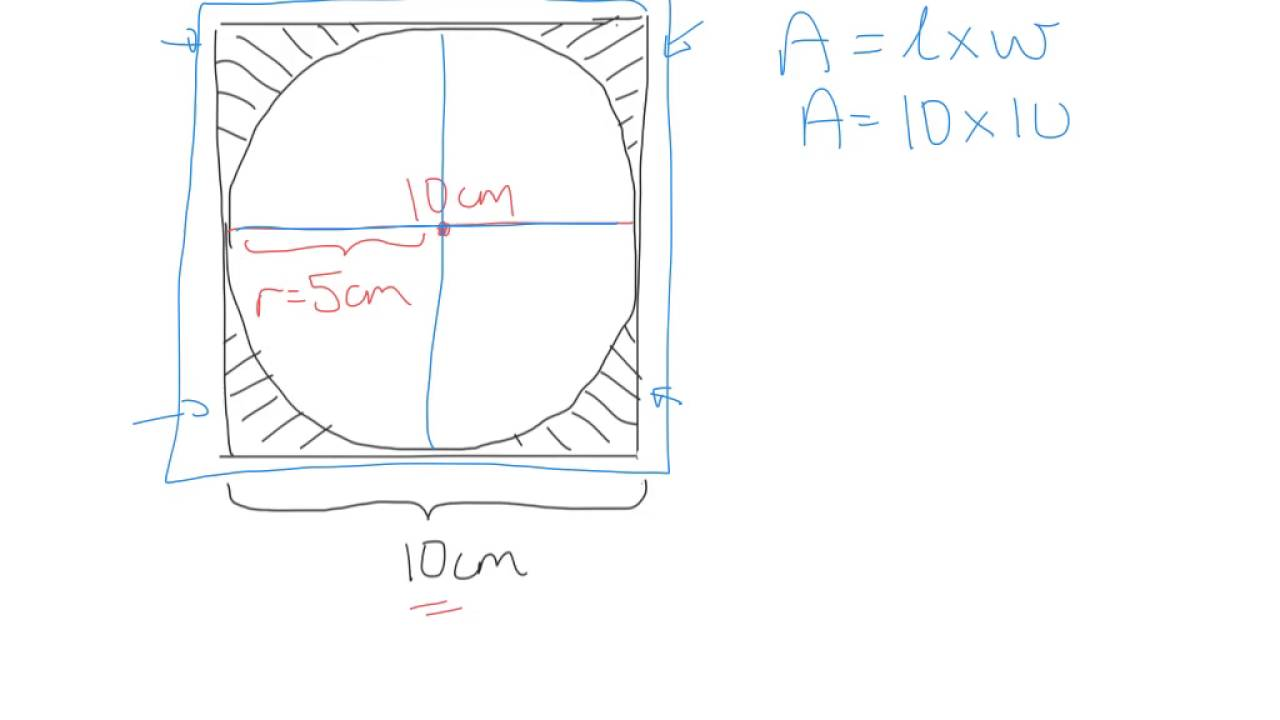 Find The Area Of Regular Polygons How To Area Of A Circle Inscribed In A  Square