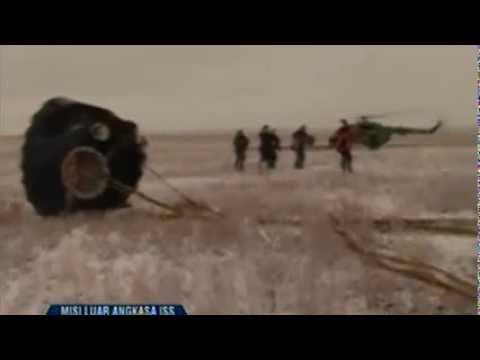 Detik Menegangkan Pendaratan Astronot Soyuz