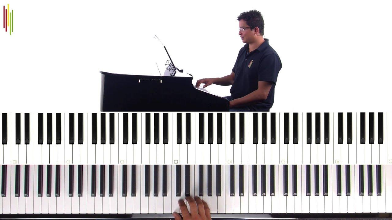 Verwonderend Kinderliedjes leren spelen op de piano: Online Muziek Academie AF-15