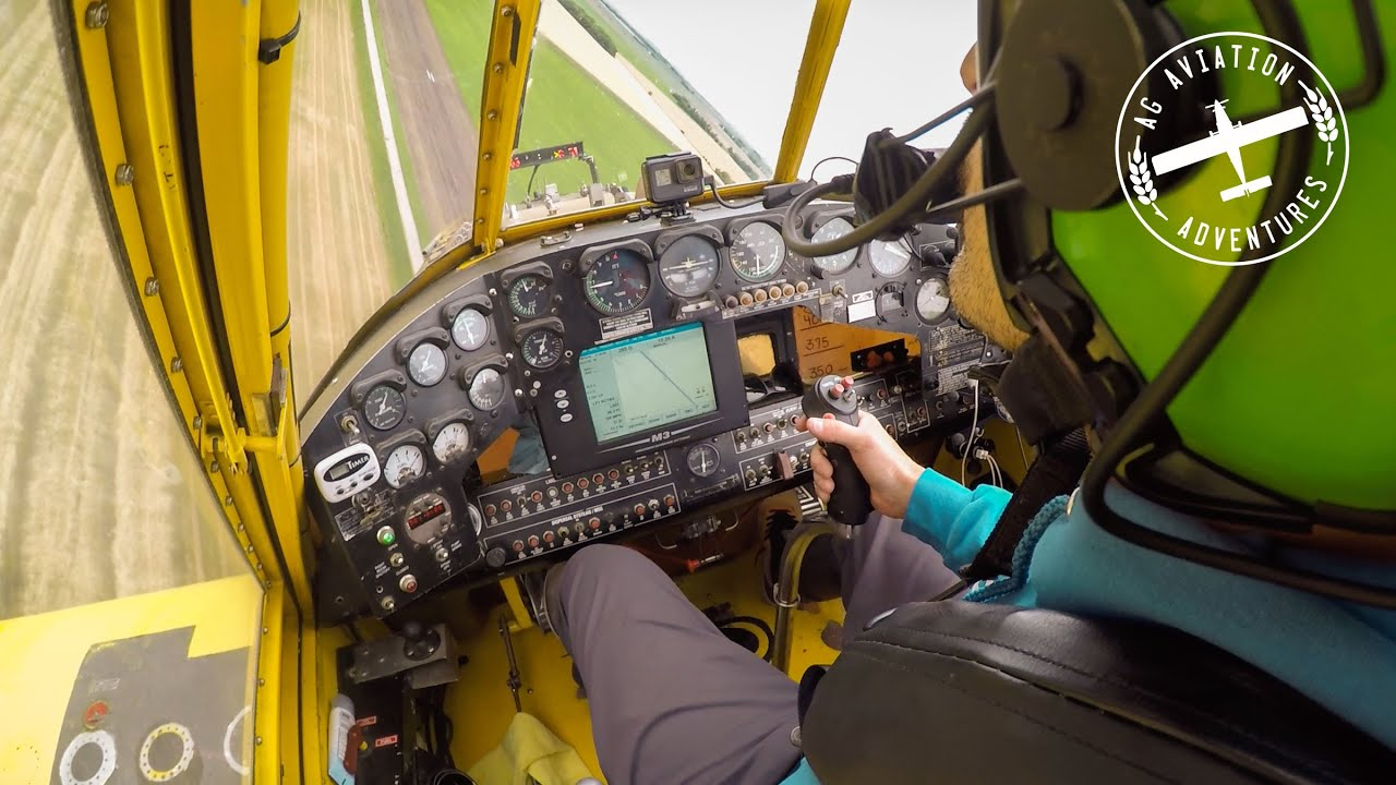 How the Light Bar and GPS Systems Work in Ag Aviation