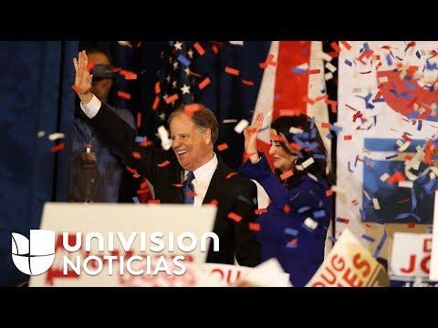 Así quedó la balanza de poder en el Senado tras la victoria de Doug Jones en Alabama