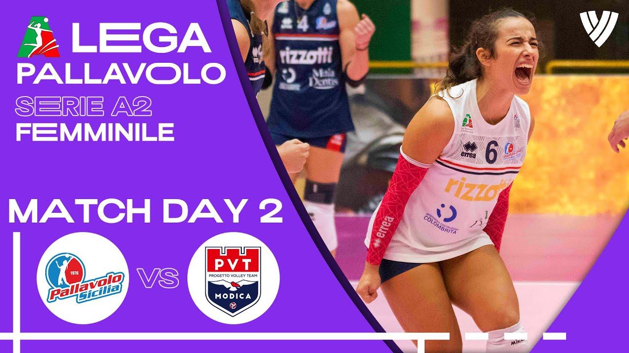 Pallavolo Sicilia vs. Modica - Full Match | Women's Serie A2 | 2021