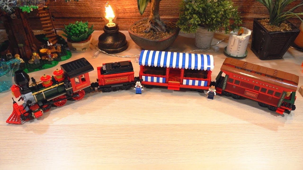Pure build: LEGO Disney Train Part 1 (Train only) 71044