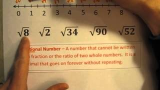 Plotting Irrational Numbers on a Number Line