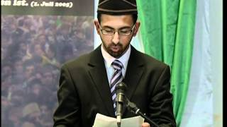 Gulshan-e-Waqfe Nau Khuddam Germany, 27 May 2012, Educational class with Hadhrat Mirza Masroor Ahmad