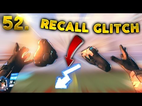 Very WEIRD Tracer Recall GLITCH..?? | OVERWATCH Daily Moments Ep. 52