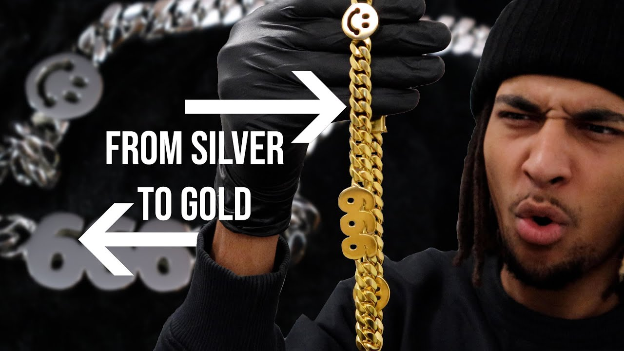 Download MAKING A CUSTOM GOLD (PLATED) CUBAN CHAIN + GIVEAWAY