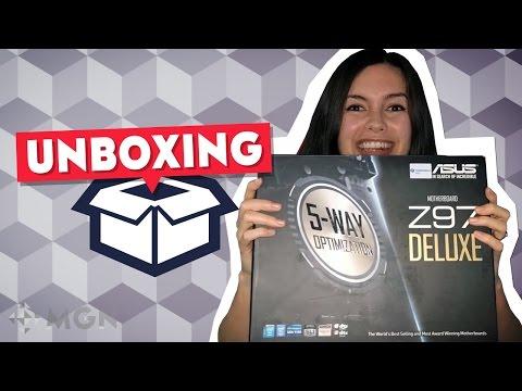 ASUS Z97-DELUXE - Unboxing en español e instalación
