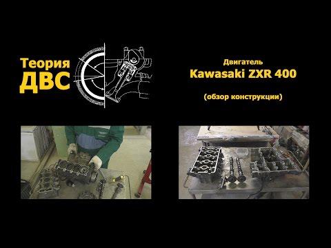Теория ДВС: Двигатель Kawasaki ZXR 400 (обзор конструкции)