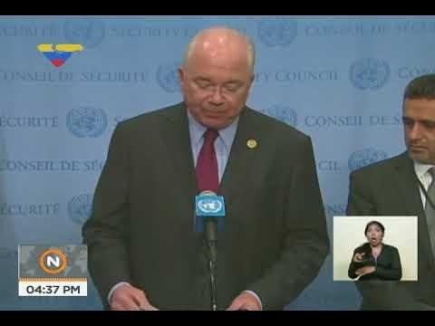 Rafael Ramírez sobre reunión en el Consejo de Seguridad ONU realizada contra Venezuela