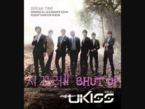 "U-Kiss - 시끄러!! / SHUT UP!! - 4th Mini Album ""Break Time"" [DL]"