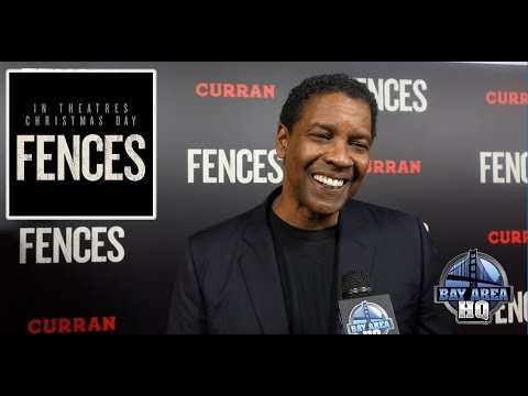 FENCES INTERVIEW WITH DENZEL WASHINGTON, MYKELTI WILLIAMSON, JOVAN ADEPO & MORE IN SAN FRANCISCO