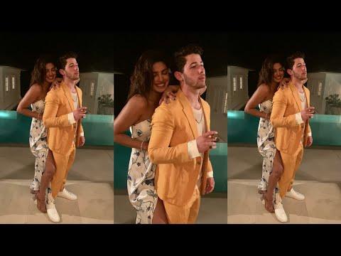 Nick Jonas and wife Priyanka Chopra enjoying vacation in Caribbean latest Pics video