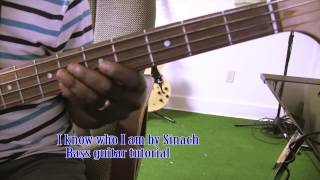i know who i am sinach bass guitar tutorial by david oke ags