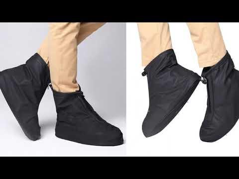 men-women-elastic-protectors-shoe-cover-rain-boots-travel-non-slip-accessories-reusable-outdoor-t...