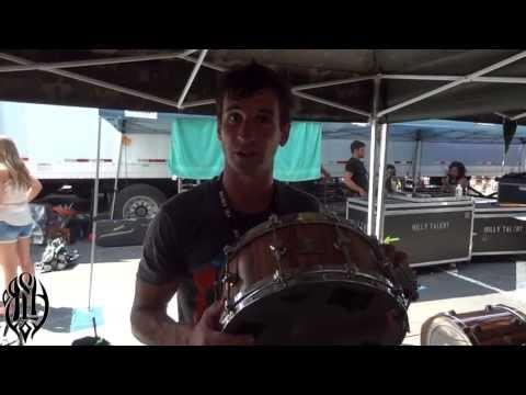 Matt Greiner - Gear Rundown -  Behind The Kit music
