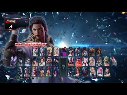 Tekken 7 Day one practice: Learning to move around