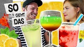 Die absolut BESTEN ALKOHOLFREIEN COCKTAILS zum SELBER machen! | So Geht Das