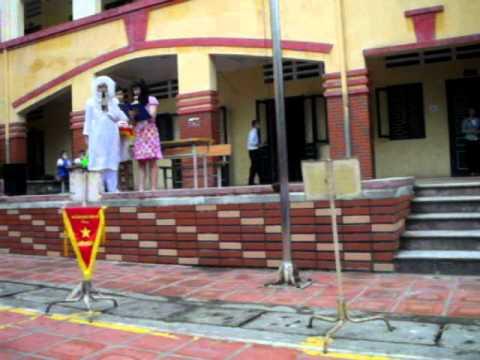 [10/10/2011] Sinh hoạt dưới cờ (2) - 9E THCS Vân Hồ