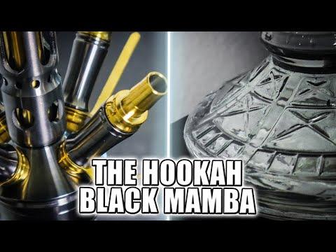 THE HOOKAH BLACK MAMBA | Anthrazit & Gold