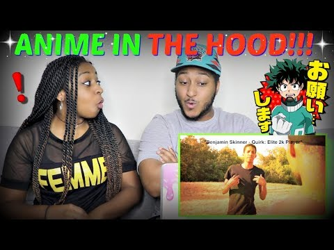 RDCworld1 'IF ANIME TOOK PLACE IN THE HOOD' REACTION!!!