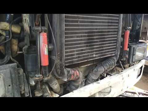Дальнобой Василич. Скания 113  доп передние амортизаторы под кабину (Scania)