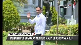 TERBARU - Tiba di Istana Presiden, Bos Gojek Nadiem Makarim Jadi Menteri Apa?