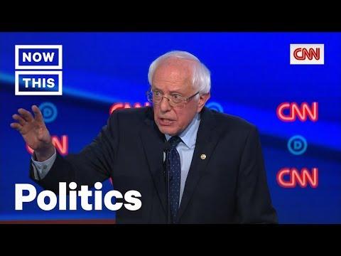 Bernie Sanders' Mic-Drop Moments from Second Democratic Debate   NowThis