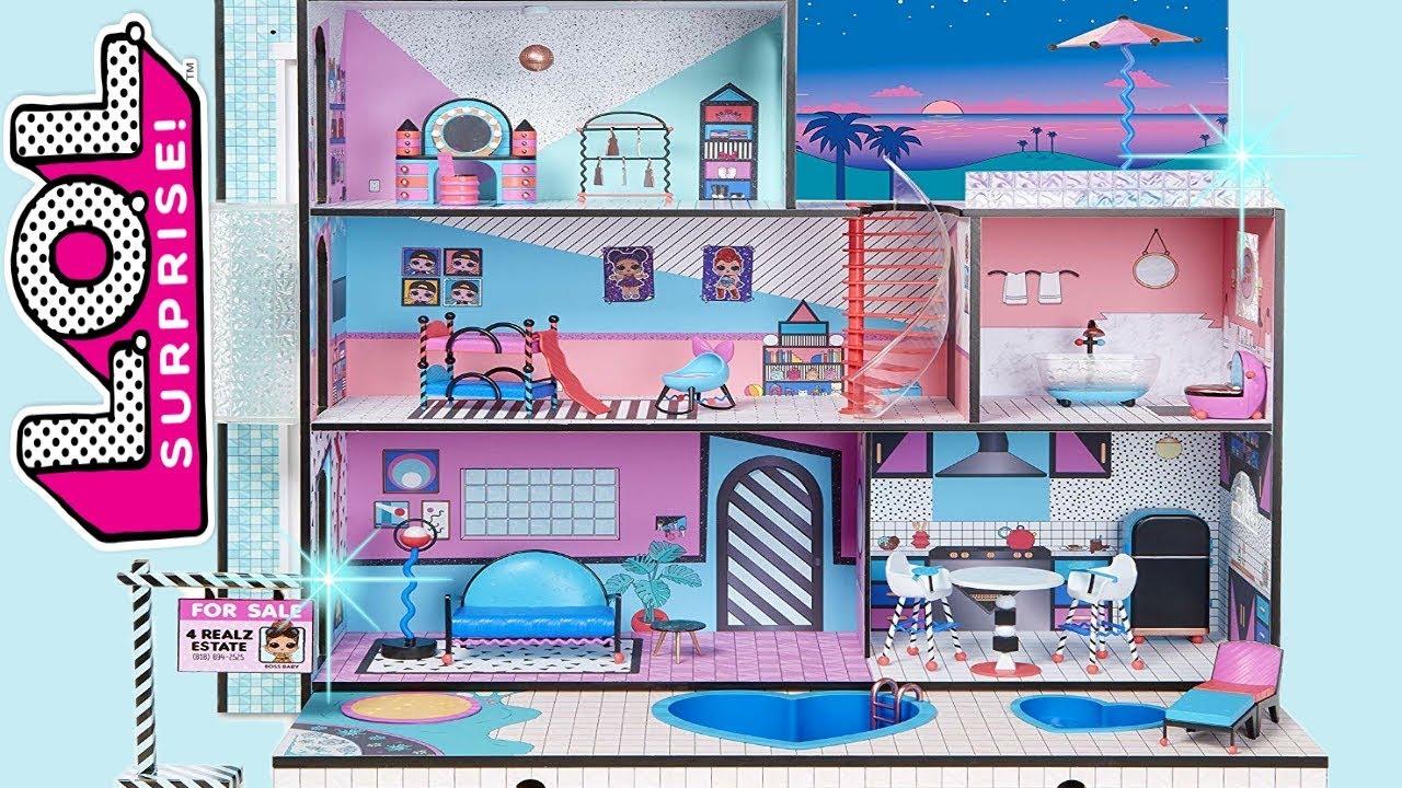 Lol Evi Aciyoruz Lol Bebeklere 3 Katli Apartman Aldik L O L
