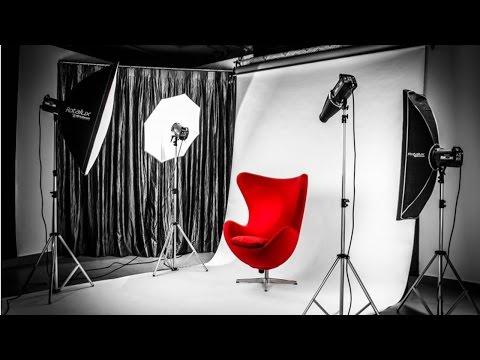Curso Estúdio Fotográfico - Montagem e Utilização