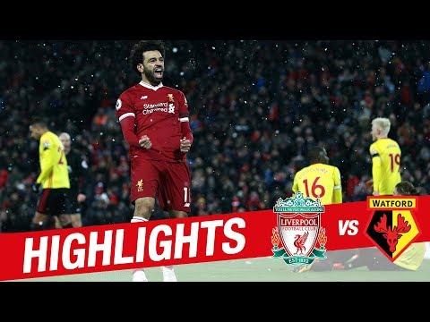 Highlights: Liverpool v Watford   Sensational Salah scores four at Anfield