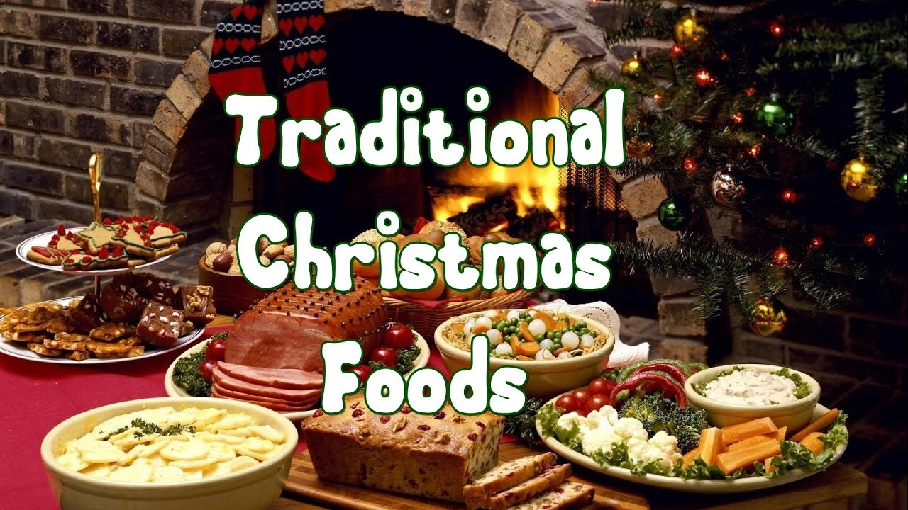 Traditional Christmas Dinner Menu.Traditional Christmas Foods