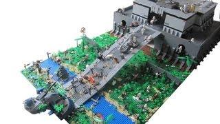 LEGO Star Wars The Clone Wars Clone Base on Kashyyyk (2.0) MOC