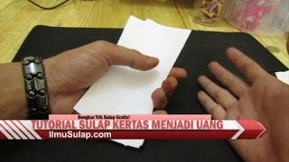 Video Tutorial Sulap Gratis - Kertas Jadi Uang Asli (Tanpa Mantra!) download MP3, 3GP, MP4, WEBM, AVI, FLV Juli 2018