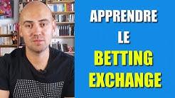 Apprendre le betting exchange et l'achat/vente de cote